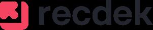 recdek logo black